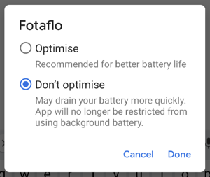 Android 2.1.0 - battery optimization 3