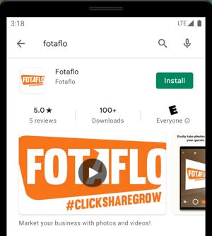 Google Play Store - install